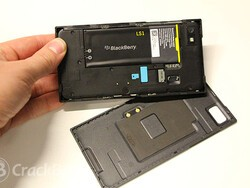 What does it mean for RIM to be in carrier lab testing with BlackBerry 10?