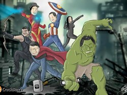 The BlackBerry Avengers, take 2 - Now starring Dan Dodge as Hawkeye; but who will play Nick Fury?!
