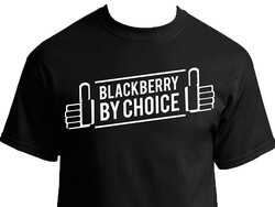 Re-Introducing the BlackBerry by Choice T-Shirt... 20 Freebies up for Grabs!