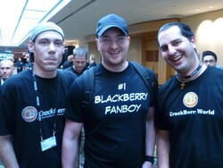 So you're a BlackBerry fanboy (or fangirl) and can blog? I want to hear from you!
