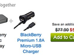 Special Limited Time BlackBerry Community Offer: Buy the BlackBerry Music Gateway and Premium Car Charger together and save BIG!