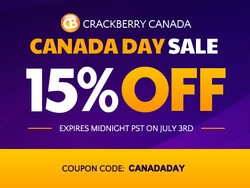 CrackBerry Canada Day Weekend Sale - Save 15% on All BlackBerry Accessories!