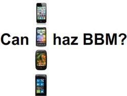 CrackBerry Poll: Should RIM make BlackBerry Messenger available to non-BlackBerry smartphones?