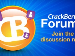 Download the FREE CrackBerry Forums App for your BlackBerry Smartphone from App World today!