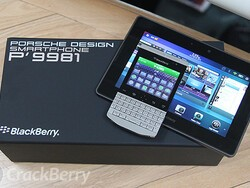 Talk about CrackBerry Heaven... I got a PlayBook OS 2.0 Update and a Porsche Design P'9981 BlackBerry in the same week!
