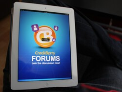 It's sacrilege, but it works: Download the CrackBerry Forums app for your iOS or Android device