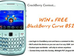 Contest: Win a BlackBerry Curve 8520 from CrackBerry.com!