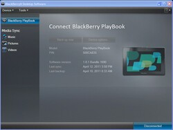 Desktop Manager for Mac Support for BlackBerry PlayBook coming this summer