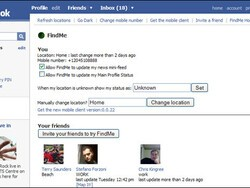 Review: FindMe Application for BlackBerry & Facebook