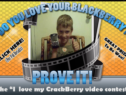 Reminder: Get Working on Your I LOVE MY BLACKBERRY Video Contest Entries This Weekend!