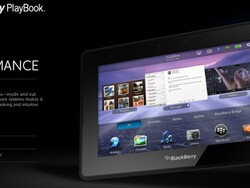 QNX logo shows up in BlackBerry PlayBook advertising; should we expect to see more of this with BlackBerry SuperPhones?