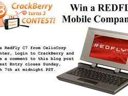 CrackBerry Turns 3 Birthday Contest: Win a RedFly Mobile Companion for BlackBerry!