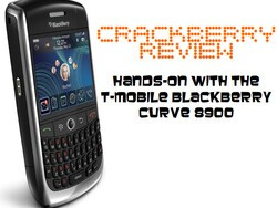 T-Mobile BlackBerry Curve 8900 Smartphone Review