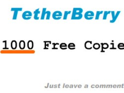 Contest: 1,000 Free Copies of TetherBerry! $50k Value!!