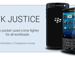 Introducing the TK5 Justice... another hot BlackBerry 10 concept!