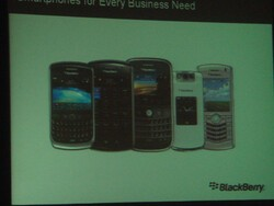 White BlackBerry Pearl Flip Spotted!