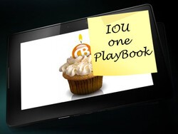 CrackBerry Birthday Contest: Win an IOU for a BlackBerry PlayBook!