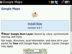 Google Maps Updated to v4.0.1 - Now Includes Buzz Layer