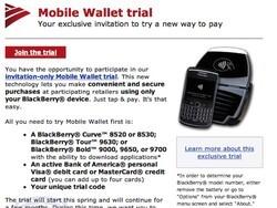 Bank of America testing Mobile Wallet program using NFC-enabled BlackBerry smartphones