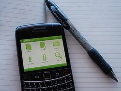 Evernote for BlackBerry updated