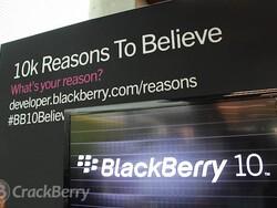 Market sentiment starting to get more positive for BlackBerry maker