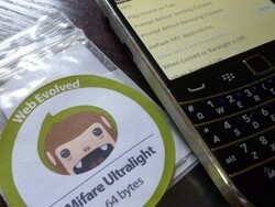How to use NFC tags with your BlackBerry Smartphone