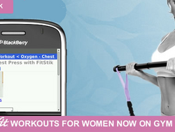 """Gym Technik and Oxygenfit """"Gift of Fitness"""" Mothers Day Promo for BlackBerry Toting Moms"""