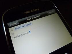 Quick Review: Facebook Messenger BlackBerry