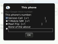 Google Voice for BlackBerry Updated to Version 0.1.7