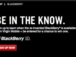 Virgin Mobile opens up BlackBerry 10 pre-registration page