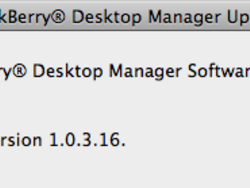 """BlackBerry Desktop Manager for Mac Updated with """"Fixes and Improvements"""""""
