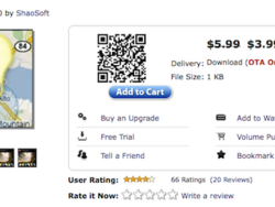 New in the CrackBerry App Store - Scan an item's barcode to easily move from desktop to device!