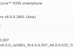 Official OS 6.0.0.633 for the BlackBerry Curve 3G 9330 from TATA INDICOM