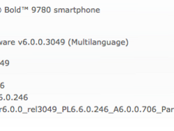 Official OS 6.0.0.706 for the BlackBerry Bold 9780 from Partner Communications