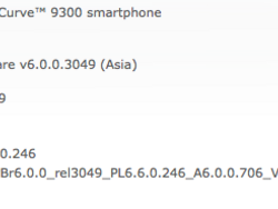 Official OS 6.0.0.706 for the BlackBerry Curve 3G 9300 from Vodafone Essar Limited