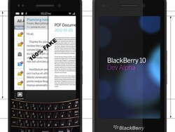 Fake of the week: BlackBerry 10 Dev Alpha with a full QWERTY keyboard