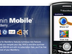 Review: Garmin Mobile for BlackBerry Smartphones