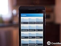 Using Dropbox on BlackBerry 10