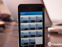 How to use the BlackBerry 10 File Manager