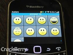 How to use animated emoticons as your BBM avatar