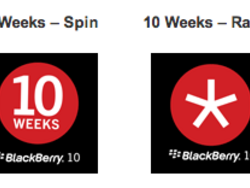 Get an animated BlackBerry 10 countdown avatar for BBM