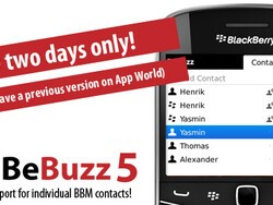 BeBuzz 5 Now Available - Includes individual BBM alerts, BBM toasts and text-to-speech