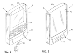 RIM patents charging holster for phones