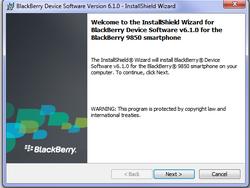 Leaked: BlackBerry Desktop Manager 6.1