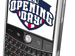 It's opening day of baseball season - is your BlackBerry ready?