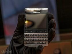 Limited edition titanium BlackBerry Porsche Design P'9981 hands on