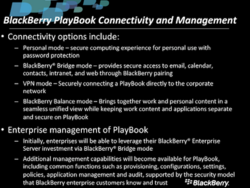 RIM BlackBerry for Business Webcast talks PlayBook, Enterprise and cloud services (listen to full audio)