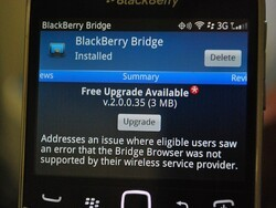 BlackBerry Bridge 2.0.0.35 now available