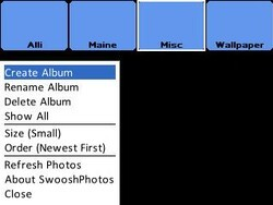 Review: SwooshPhotos for Blackberry