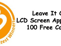 Contest Winners -  Leave It On LCD Screen Application